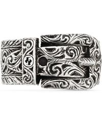 Gucci Garden Silver Ring - Multicolour
