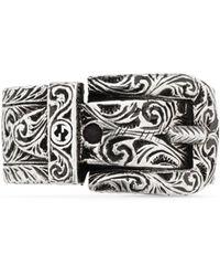 Gucci Garden Ring aus Silber - Mettallic