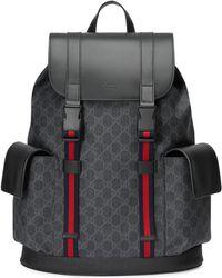 Gucci - Rucksack aus weichem GG Supreme - Lyst