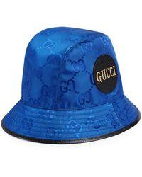 Gucci Cappello fedora Off The Grid - Blu