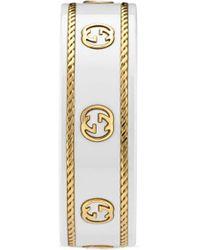 Gucci Anillo Icon de oro amarillo con GG - Metálico