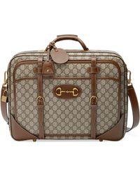 Gucci Horsebit 1955 Suitcase - Natural