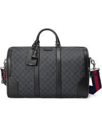 Gucci Large GG Duffle Bag - Black