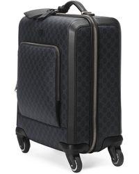Gucci Gran Turismo GG Supreme Suitcase - Black