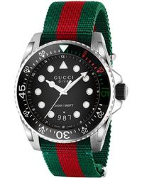 Gucci Orologio Dive, 45 mm - Verde