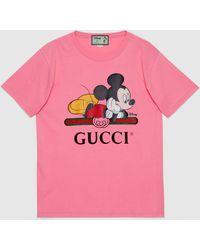 Gucci - グッチdisney (ディズニー) X オーバーサイズ Tシャツ - Lyst