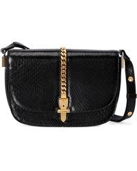 Gucci Sylvie 1969 Mini Shoulder Bag - Black