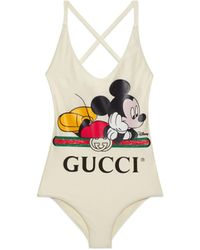 Gucci Disney X Swimsuit - White