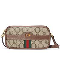 Gucci Ophidia GG Mini Bag - Natural