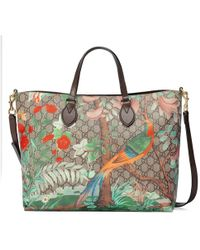 Gucci - Tian Soft Gg Tote - Lyst
