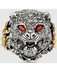 Gucci Le Marché des Merveilles Ring - Mehrfarbig