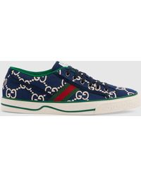 Gucci Tennis 1977 Herren-Sneaker - Blau