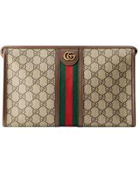 Gucci Porta necessaire Ophidia GG - Neutro