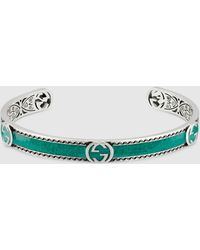 Gucci Armband mit GG - Grün