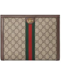Gucci Ophidia Pouch - Natural