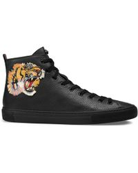 eac75ca76 Lyst - Men's Gucci High-top trainers Online Sale