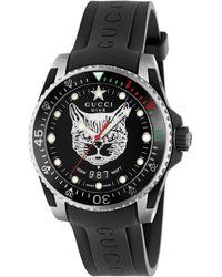Gucci Reloj Dive, 40 mm - Negro