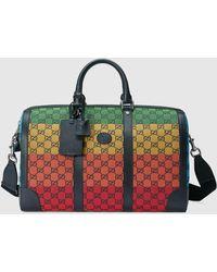 Gucci GG Multicolor Reisetasche - Gelb