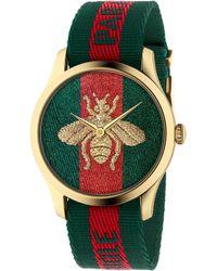 Gucci G-timeless Watch, 38mm - Green