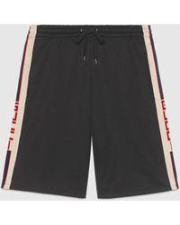 Gucci Technical Jersey Short - Black