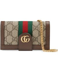 1eea26fe262ee Gucci - Ophidia iPhone 7 8-Etui mit GG Kette - Lyst