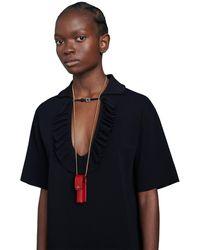Gucci - Porte-rouge à lèvres en cuir - Lyst