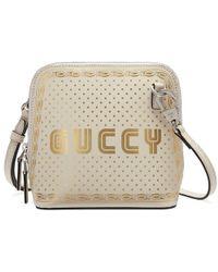 Gucci - Guccy Sega® Print Mini Shoulder Bag - Lyst