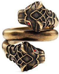 Gucci | Tiger Head Ring | Lyst