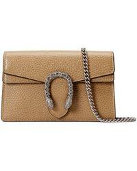 Gucci Dionysus Super Mini Bag - Natural