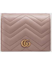 Gucci 〔GGマーモント〕 カードケース(コイン&紙幣入れ付き) - マルチカラー