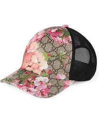 Gucci - Gg Blooms Baseball Hat - Lyst