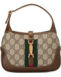 Gucci Jackie 1961 Mini Hobo Bag - Natural