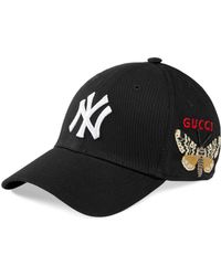 Gucci - Baseball Cap With Ny Yankees��� Patch - Lyst