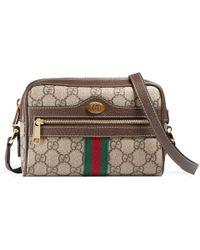 Gucci - Ophidia Gg Supreme Mini Bag - Lyst