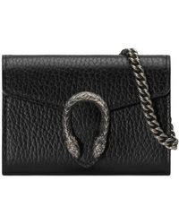 Gucci Porte-monnaie Dionysus - Noir