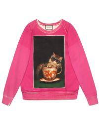 Gucci - Ignasi Monreal Print Sweatshirt - Lyst