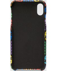 Gucci IPhone XS Max Hülle mit GG Psychedelic Print - Schwarz