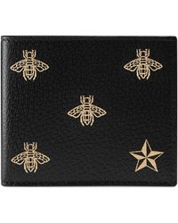Gucci - Patterned Bi-fold Wallet - Lyst