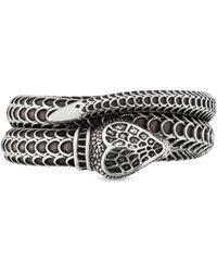Gucci - Garden Schlangen-Ring aus Silber - Lyst