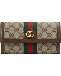 Gucci - グッチdiy 〔オフィディア〕GG コンチネンタルウォレット - Lyst