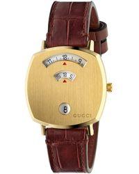 Gucci Reloj Grip, 35 mm - Multicolor