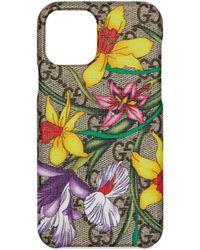 Gucci GG Flora Iphone 11 Pro Case - Natural