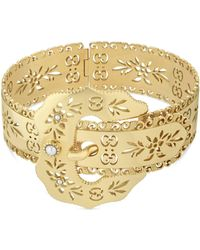Gucci - Icon Bracelet In Yellow Gold - Lyst