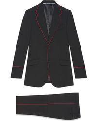 Gucci Esmoquin Heritage con Ribete - Negro