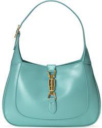 Gucci Jackie 1961 Small Shoulder Bag - Blue