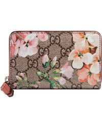 Gucci - GG Blooms Card Case - Lyst