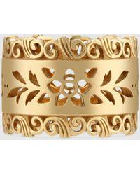 Gucci Icon Ring aus Gelbgold - Mettallic