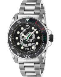 Gucci - Dive Watch, 45mm - Lyst