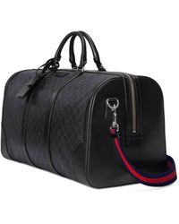 Gucci GG Black Carry-on Duffle