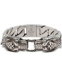 Gucci - Garden Armband aus Silber - Lyst